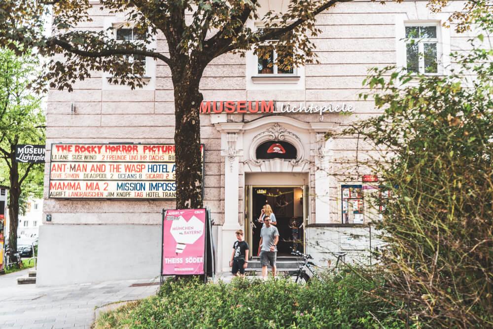 Museum Lichtspiele, a great English cinema in Munich